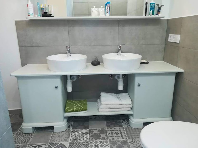 Ragno Sound  - Prissmacer Hidra Gris - fürdőszoba