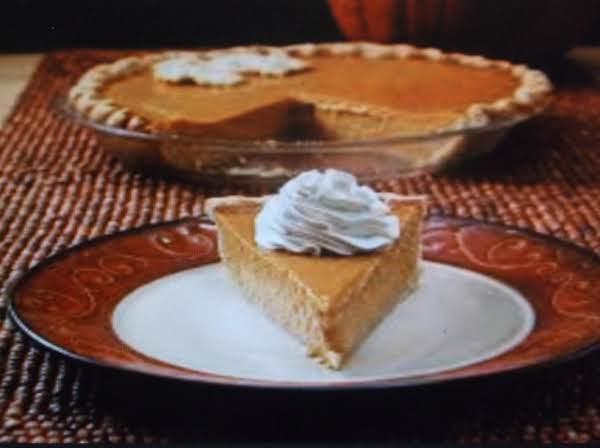 Low Carb Soy Pumpkin Pie