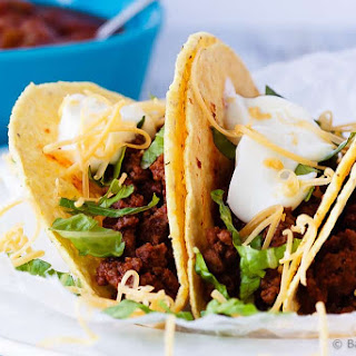 20 Minute Ground Beef Tacos.
