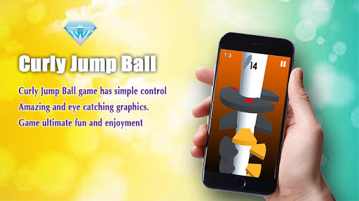Curly Jump Ball - For Android 1.1 screenshots 2