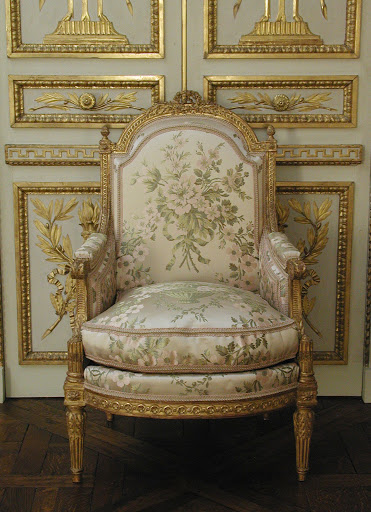 Armchair (Bergère à la reine) (one of a pair) (part of a set)