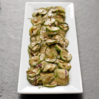 Salt-Massaged Cucumber With Miso and Sesame