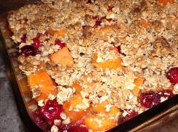 Sweet Potato And Cranberry Bake Recipe