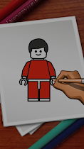 How to Draw lego - screenshot thumbnail 04