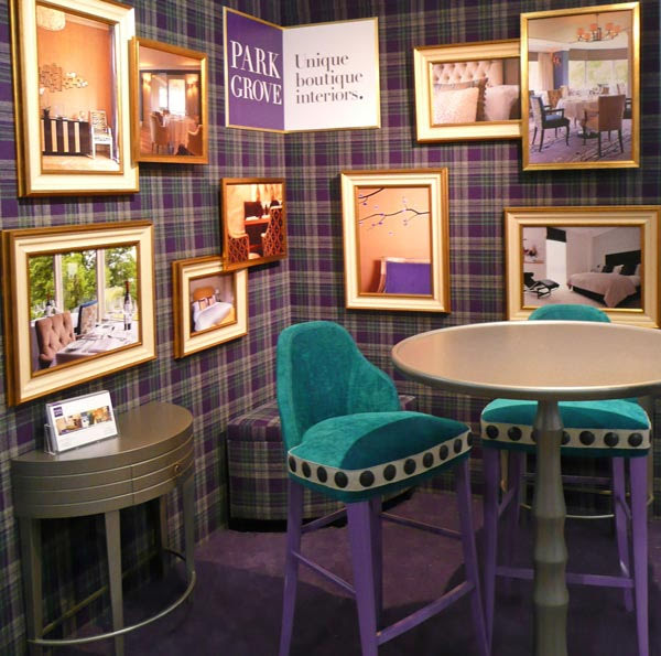 Park Grove Design exhibit at the Independent Hotel Show