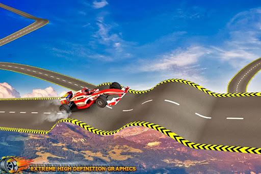 Formula Car Stunt  Race apkmr screenshots 6
