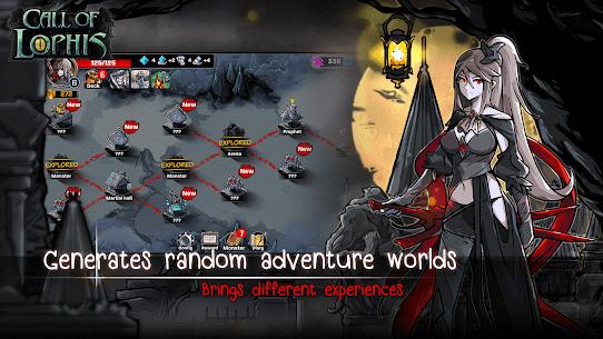 Lophis Roguelike:Card RPG game,Darkest Dungeon 4