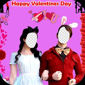 Valentines Day Photo Montage