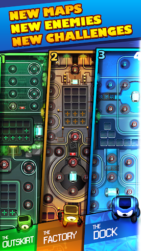 Cybershock : TD Idle & Merge modavailable screenshots 7