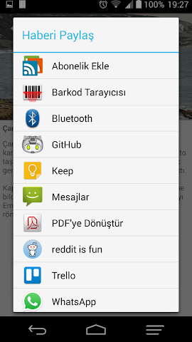 android t24 haber Screenshot 3