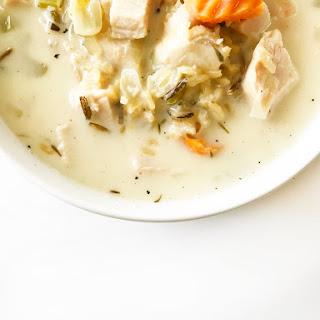 Skinny Turkey & Wild Rice Soup.