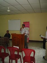 Photo: Sr. Oscar Aburto  Delegado Regional Bluefields- MINED