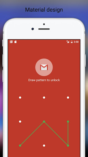 Fingerprint Pattern App Lock 4.06 screenshots 1