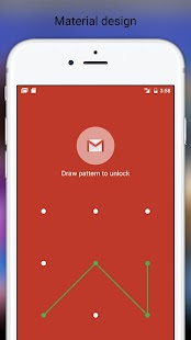 Fingerprint Pattern App Lock - náhled