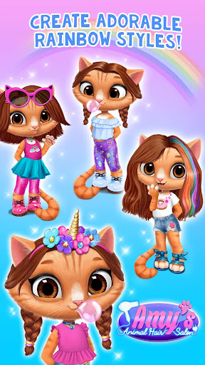 Amy's Animal Hair Salon - Fluffy Cats Makeovers 2.0.17 {cheat|hack|gameplay|apk mod|resources generator} 2