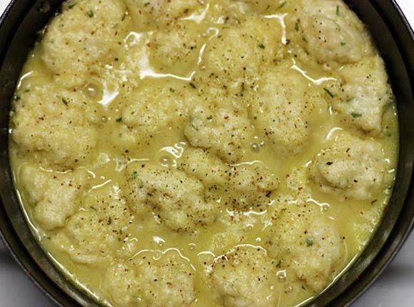 Feather Dumpling's For Chicken & Dumpling's Recipe
