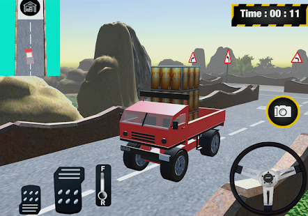 3D Truck Simulatore - náhled