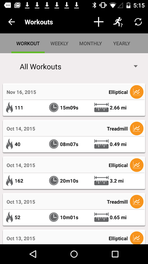 DAC Fitness- screenshot