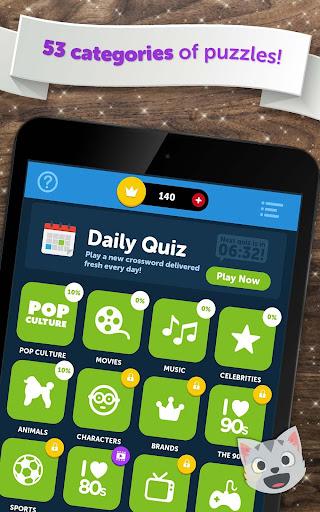 Crossword Quiz - Crossword Puzzle Word Game! apkmr screenshots 19