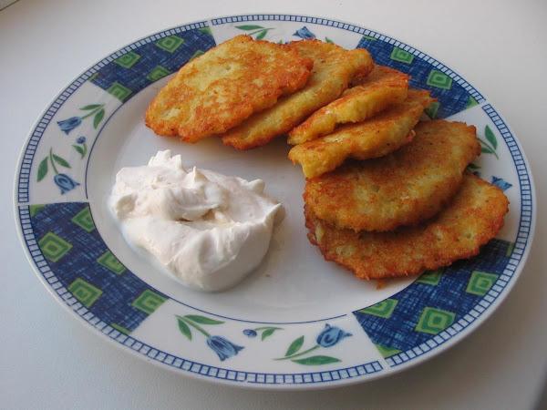 Mushrooms And Onion Filled Potato Cakes Recipe