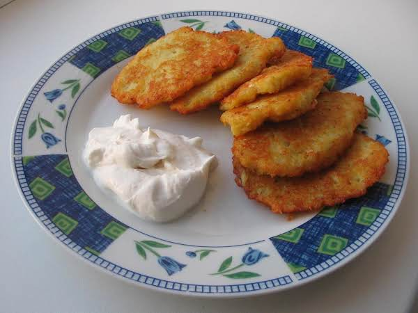 Mushrooms And Onion Filled Potato Cakes Recipe