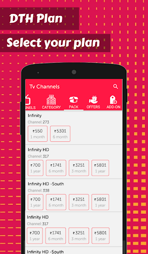 Foto do App for Digital TV Channels & Digital DTH TV Guide