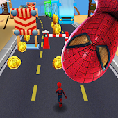 Subway avengers Infinity Dash: spiderman & ironman