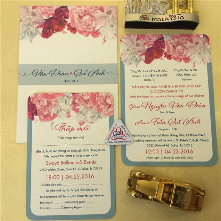 Thiệp cưới cao cấp 2016 phần 2