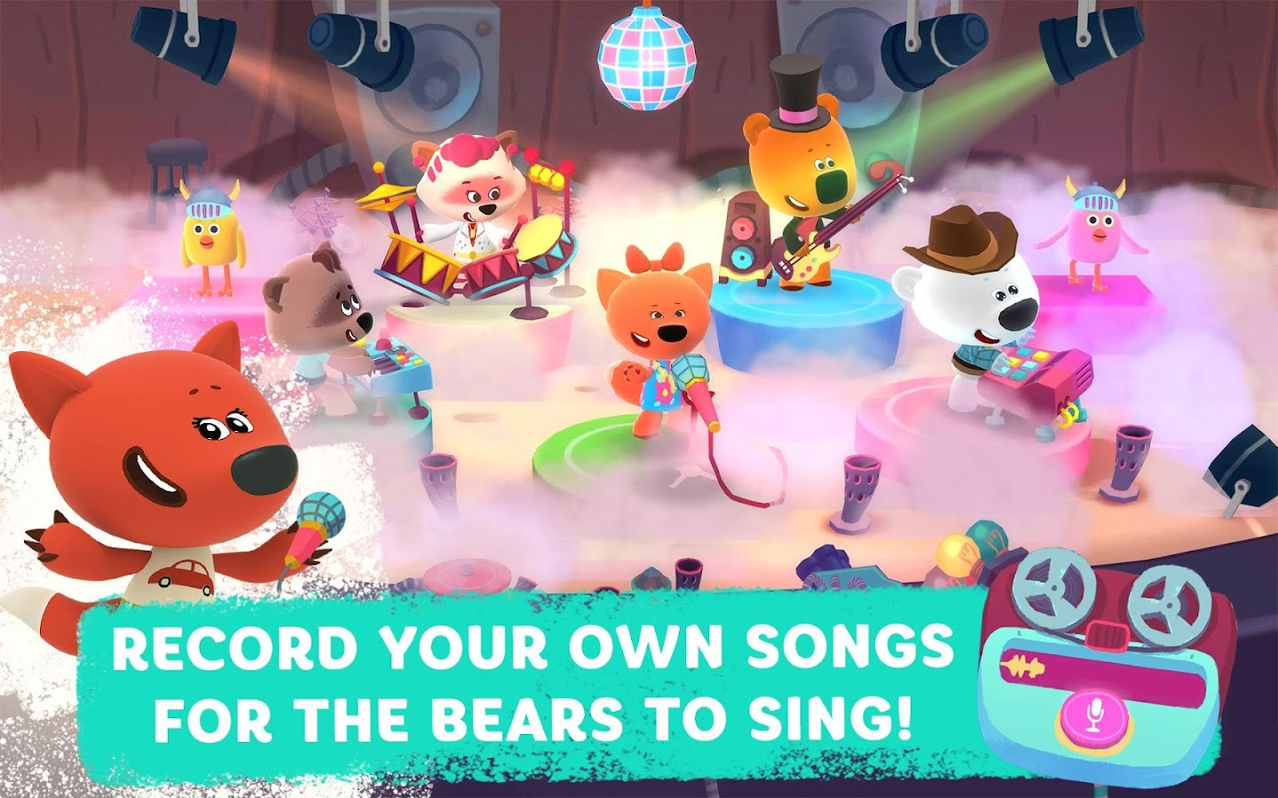 Rhythm and Bears- screenshot