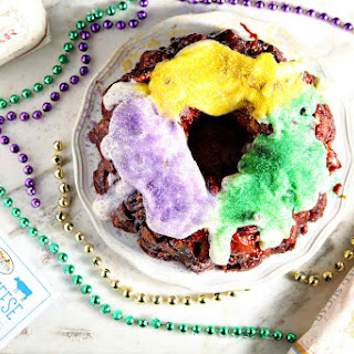 Praline Pull-Apart King Cake.