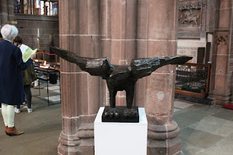 Photo: Eagle (Lectern) by Elisabeth Frink