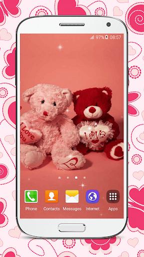 About Sweet Teddy Bear Wallpaper