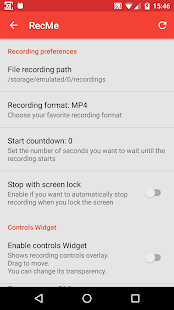 RecMe Free Screen Recorder - náhled