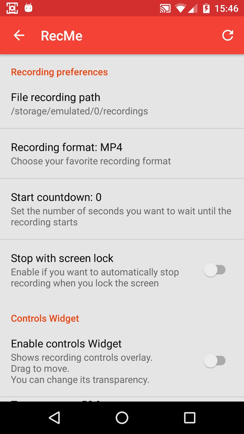 RecMe Screen Recorder Screenshot 3