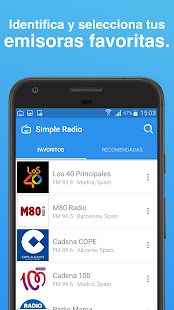 Simple Radio - FM & AM en Vivo: miniatura de captura de pantalla