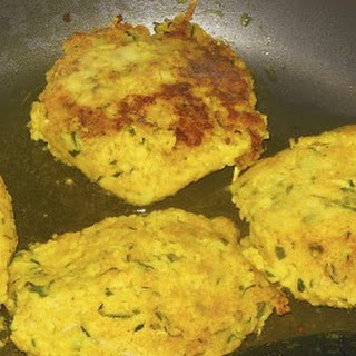 Shredded Zucchini and Couscous Cakes.