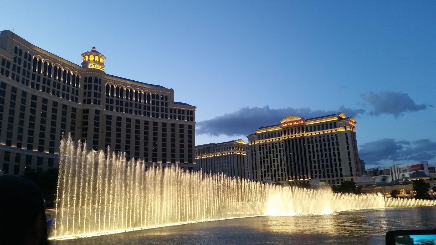 watershow Bellagio Las Vegas The Strip