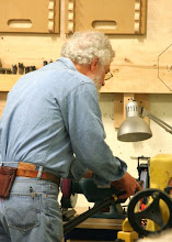Photo: What's the first thing you do before turning?  Yep, sharpen your tool!