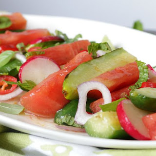Thai Grilled Watermelon Salad.