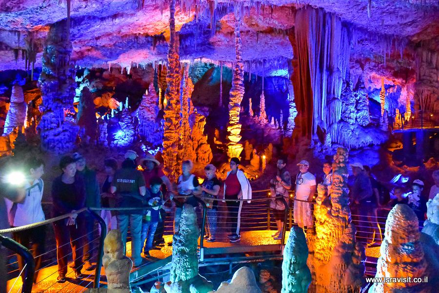 Экскурсовод в Израиле Светлана Фиалкова. Экскурсия в сталактитовую пещеру Сорек.