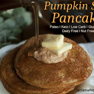 Pumpkin Spice Pancakes - Low Carb