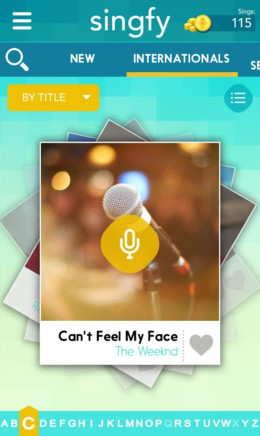 Singfy Karaoke- screenshot