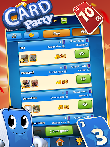GamePoint CardParty screenshots 2
