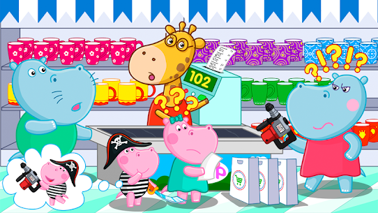 Supermarket: Shopping Games for Kids 3