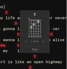 guitar chord generator
