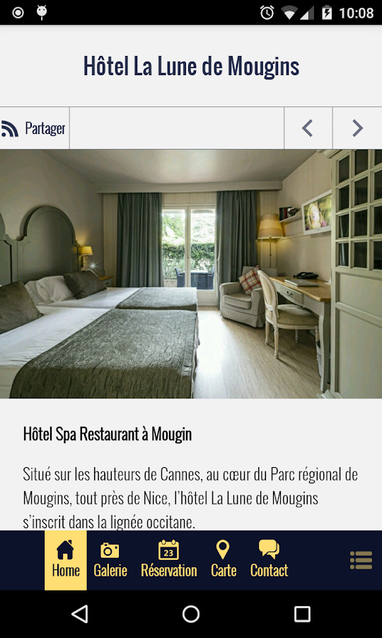 Hôtel La Lune de Mougins- screenshot