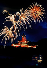 Photo: Feuerwerk am Weinfest in Cochem