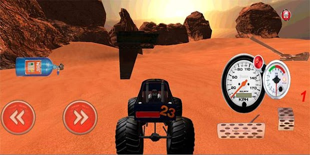 4x4 Offroad Monster Truck 3D- screenshot thumbnail
