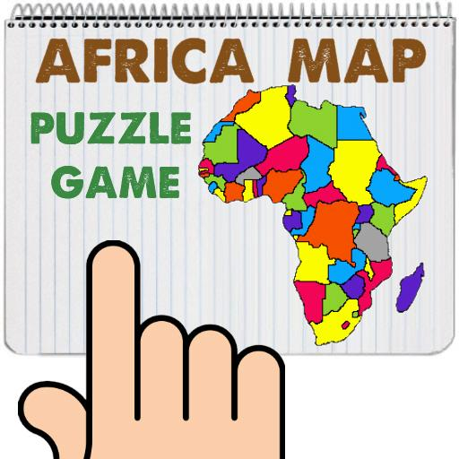 Africa Map Puzzle Drag & Drop