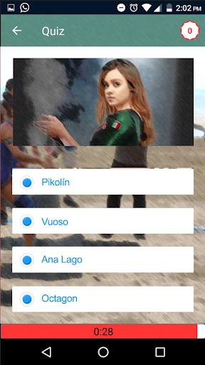 Juegos de Exatlon Trivia Quiz 1.0 screenshots 3